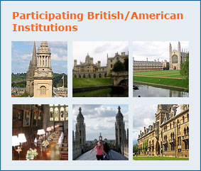 Participating British / Amercan Institutions